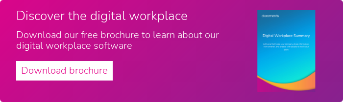 Discover the digital workplace  Download our free brochure to learn about our digital workplace software  Download brochure