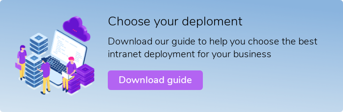 Intranet deployment guide