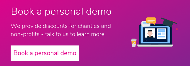 Book a personal demo