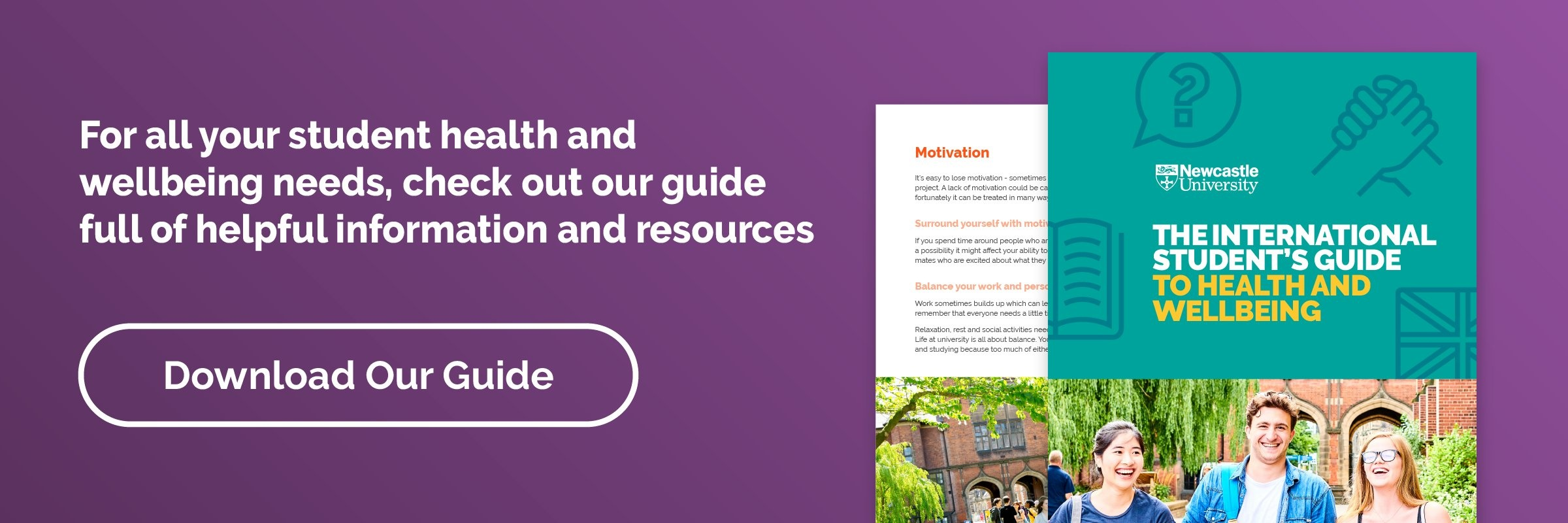 International Student Guide to Health and Wellbeing CTA