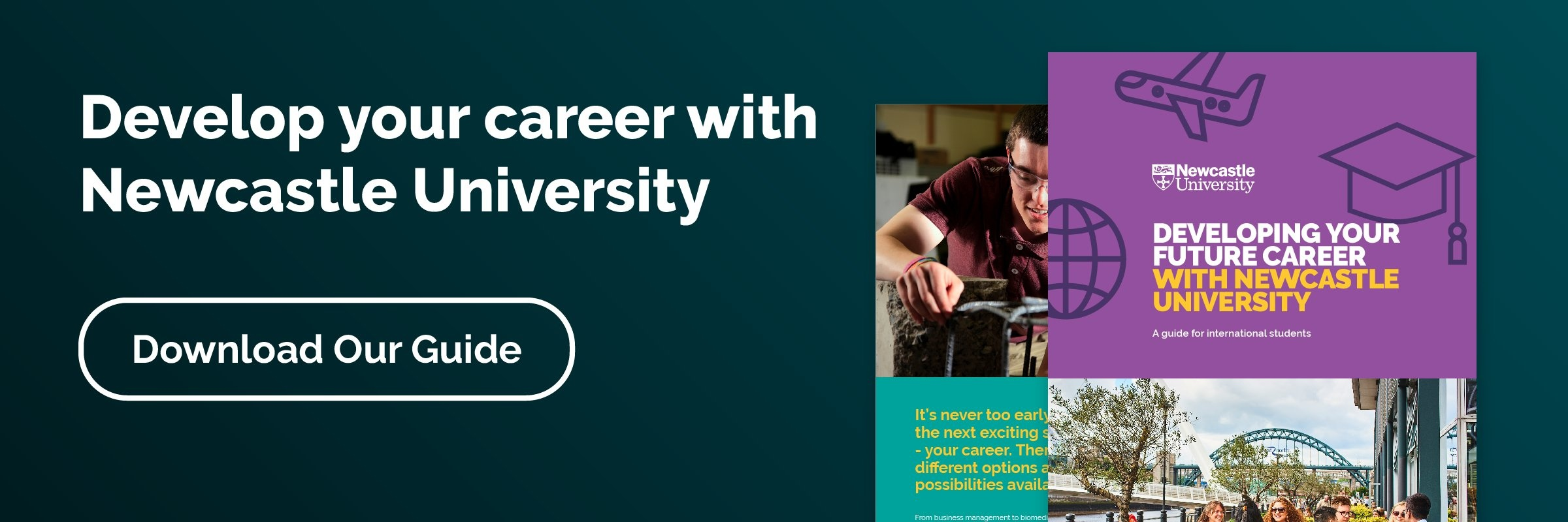 Develop your career with Newcastle University