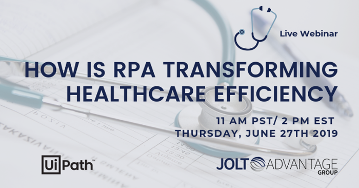 HOW RPA IS TRANSFORMING HEALTHCARE EFFICIENCY