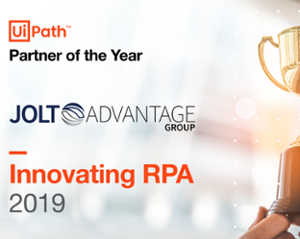 JOLT - UiPath partner of the year