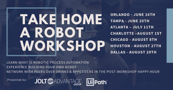 TAKE HOME A ROBOT WORKSHOP