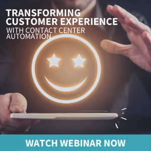 Watch Webinar on Innovating Contact Center with RPA