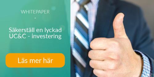 Whitepaper | Lyckad UC&C - investering