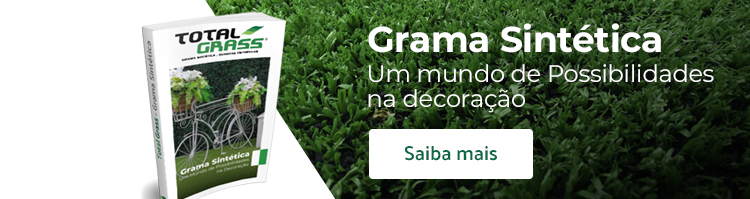 Total Grass - Grama Sintética Decorativa