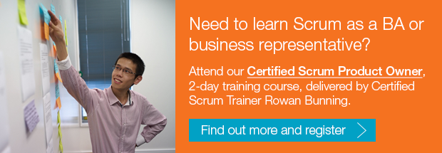 Need to learn Scrum as a Business Analyst or business representative? Attend our Certified Scrum Product Owner