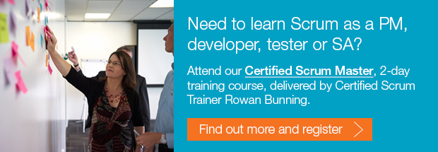 Need to learn Scrum as a PM, developer, tester or systems analyst - attend our Certified ScrumMaster