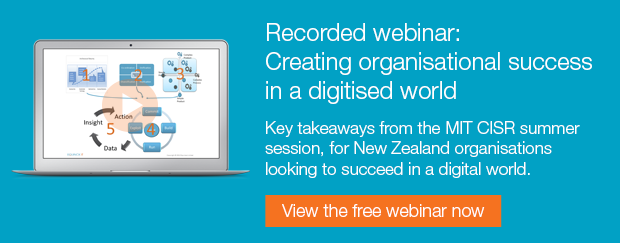 Free recorded webinar: Creating organisational success in a digitised world