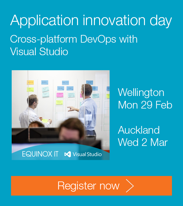 Application innovation day: Cross-platform DevOps with Visual Studio