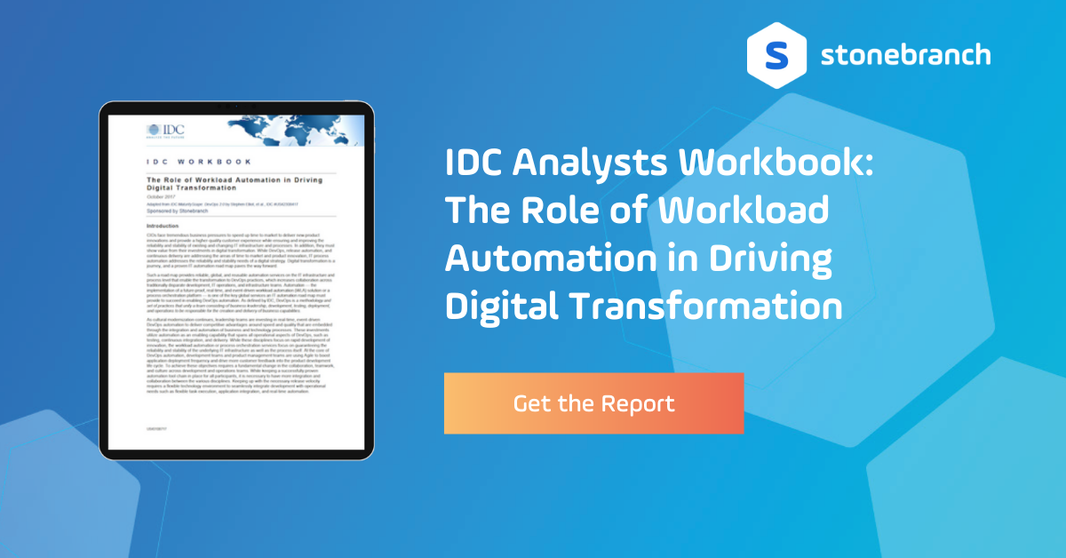 IDC Banner Analyst Workbook - The Role of WLA