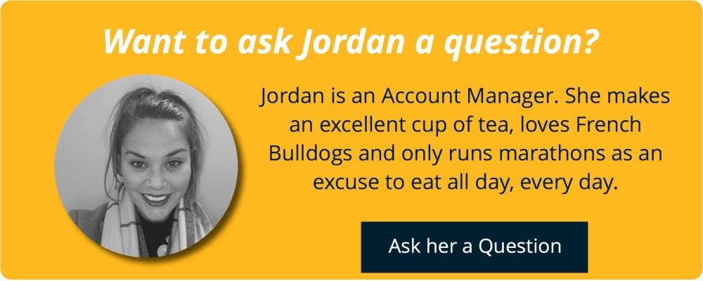 Ask Jordan an email marketing question