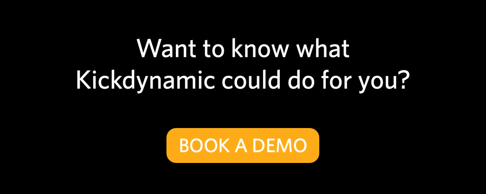 Kickdynamic book a demo