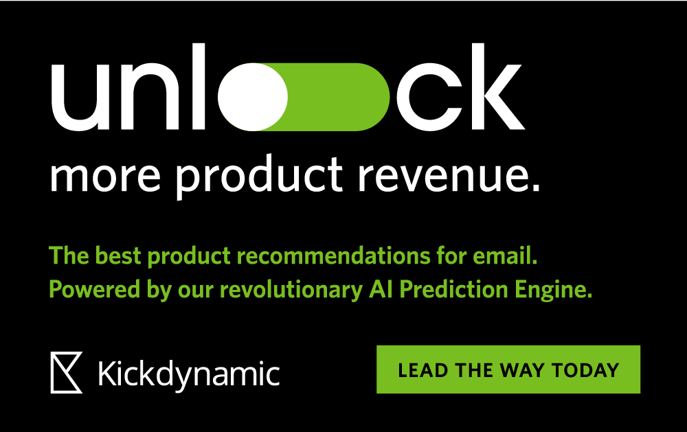 Email product Recommendations from Kickdynamic