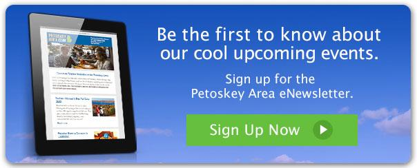 Sign up for the Petoskey Area eNewsletter
