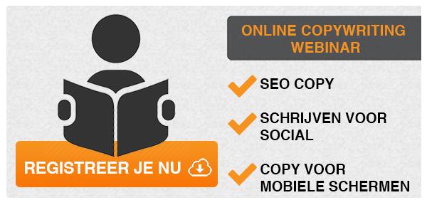Online copywriting spoedcursus - Webinar