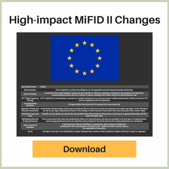 High-impact MiFID II Changes - Download