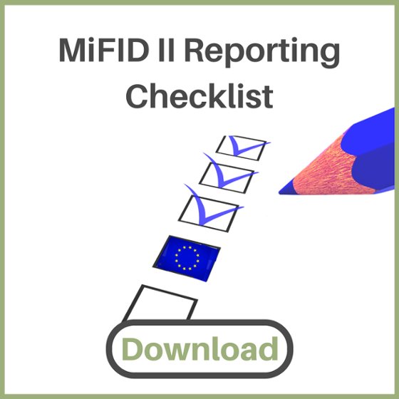 MiFID 2 Reporting Checklist