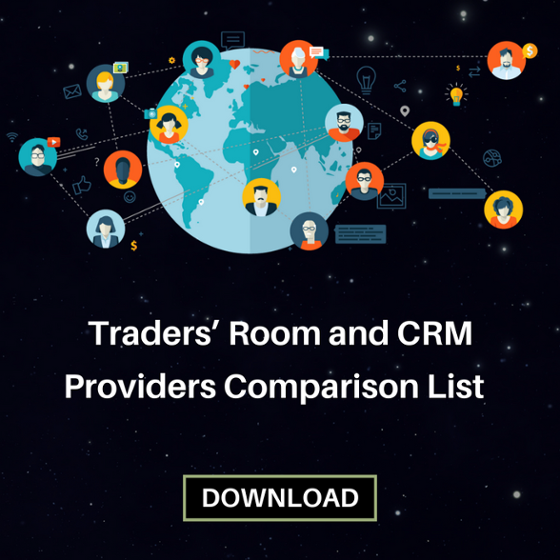 Download Traders Room and CRM Providers Comparison List
