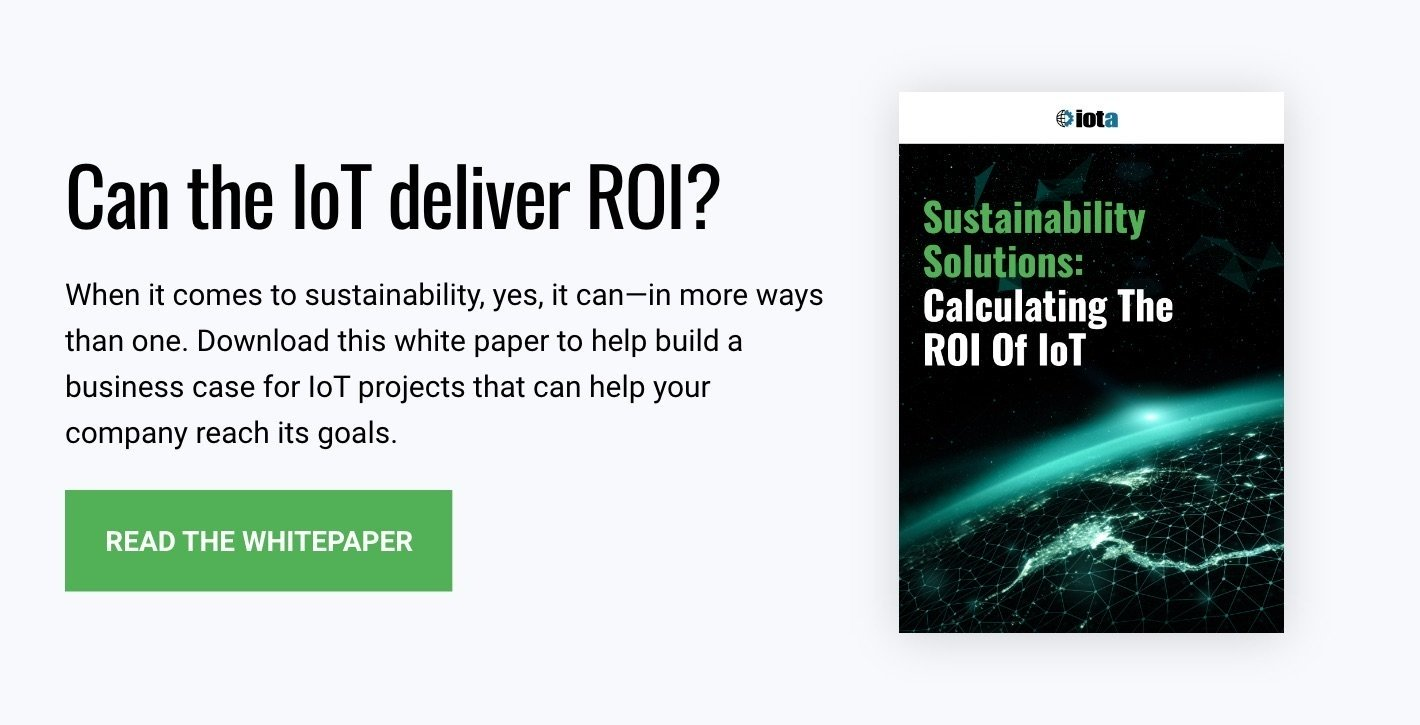 Download Now: Sustainability Solutions: Calculating The ROI Of IoT
