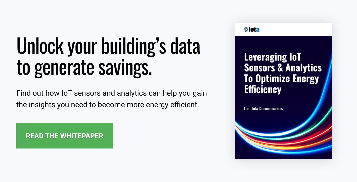 Download Now: Leveraging IoT Sensors & Analytics To Optimize Energy Efficiency
