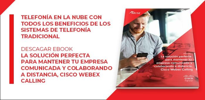 Cisco Webex Calling es parte del paquete de colaboración para empresas medianas y grandes de Cisco Webex.