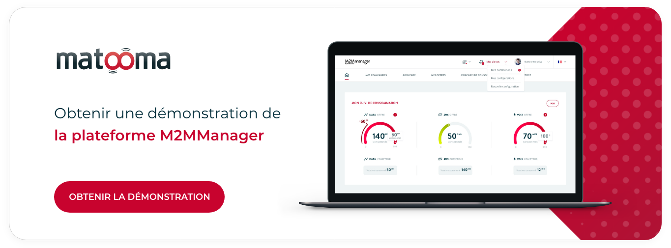 Demonstration Plateforme M2MManager Demo