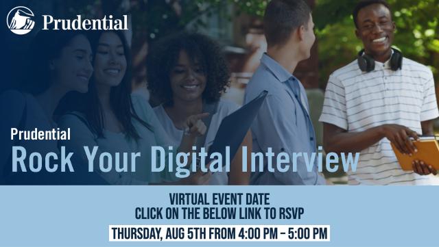 Rock your digital interview Thursday August 5th 4-5pm ET