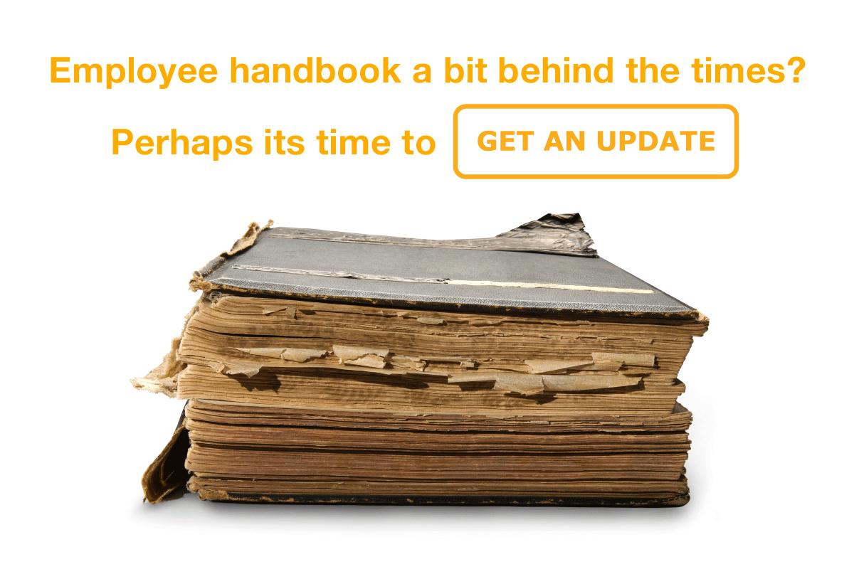 Custom employee handbook from Trupp HR