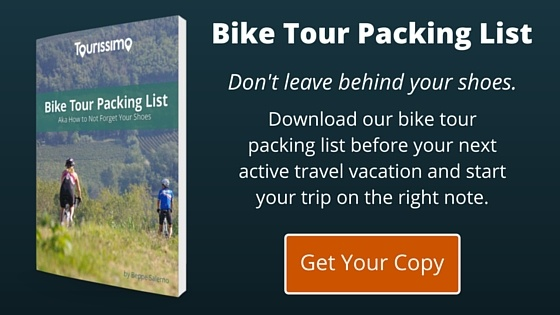 tourissimo bike tour packing list for active travel