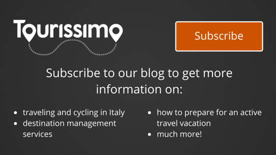 tourissimo subscribe to active travel blog