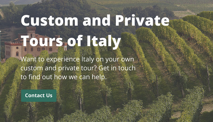 private tour of italy