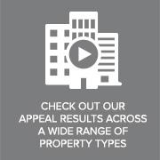 Check out our Appeal Results across a wide range or Property Types
