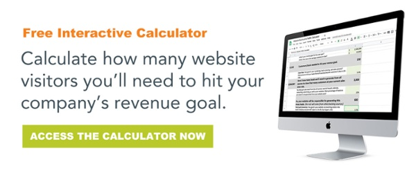 Revenue to Website Traffic Calculator