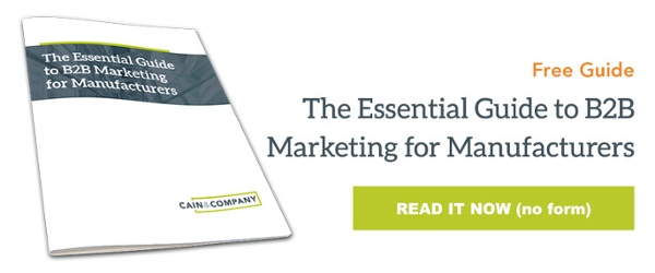 Read the Essential Guide to B2B Marketing for Manufacturers
