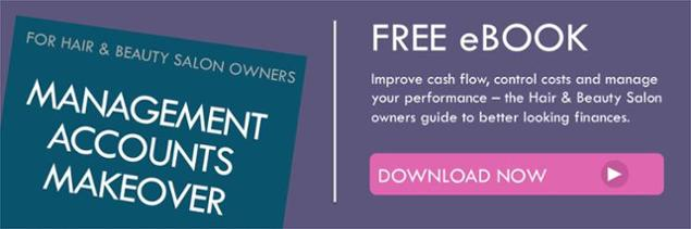 Hair & Beauty salon owners Management accounts makeover