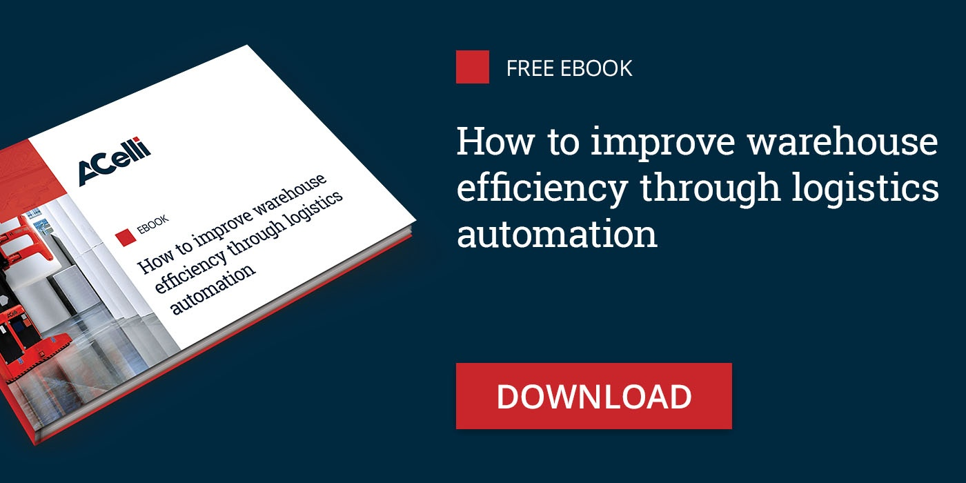 Transform the warehouse with logistics automation
