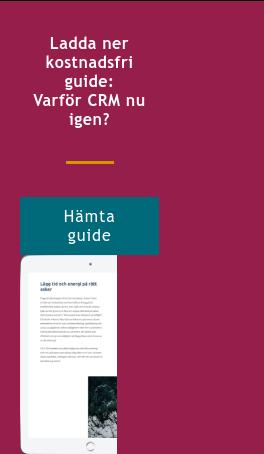 Ladda ner kostnadsfri guide: Varför CRM nu igen? Hämta guide  <http://info.stretch.se/se-guide-learning-is-a-business-critical-investment>