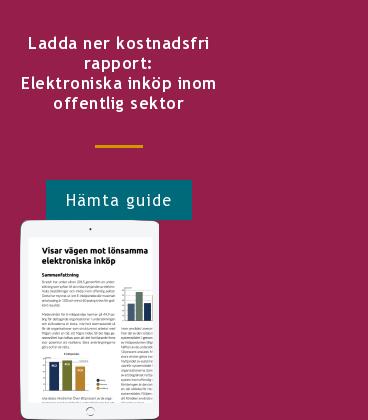 Ladda ner kostnadsfri rapport: Elektroniska inköp inom offentlig sektor Hämta guide  <http://info.stretch.se/se-guide-elektroniska-inkop-offentlig-sektor>