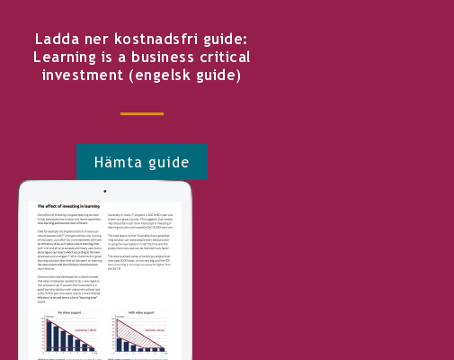 Ladda ner kostnadsfri guide: Learning is a business critical investment (engelsk guide) Hämta guide  <http://info.stretch.se/se-guide-learning-is-a-business-critical-investment>