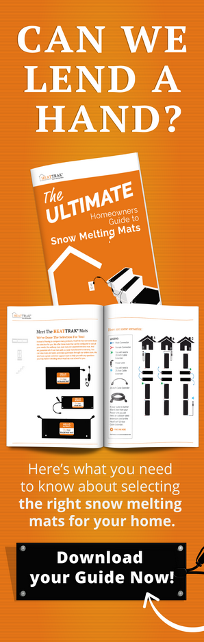 Download our Homeowners Guide to HeatTrak Snow Melting Mats