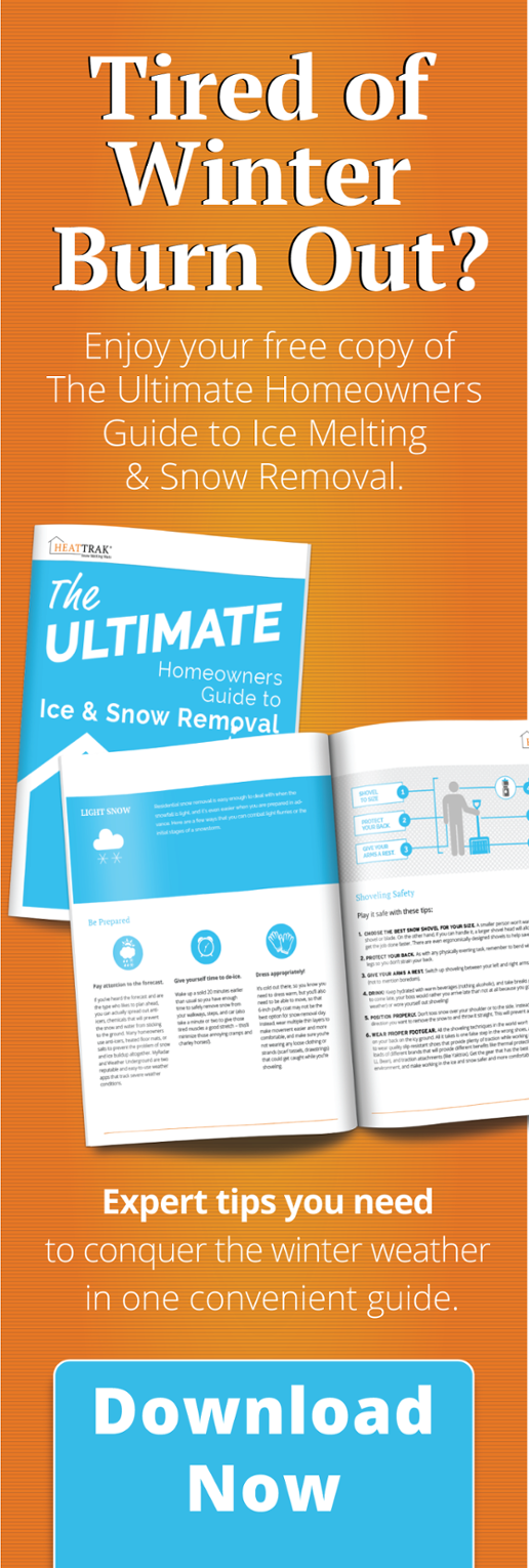 Tired of winter burn out? Get your guide to ice melting & snow removal here.