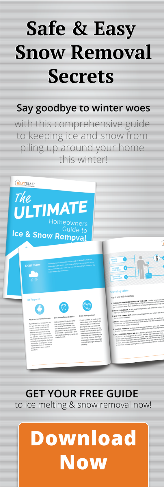 Seeking the secrte to safe and easy snow remvoal? Find it here!