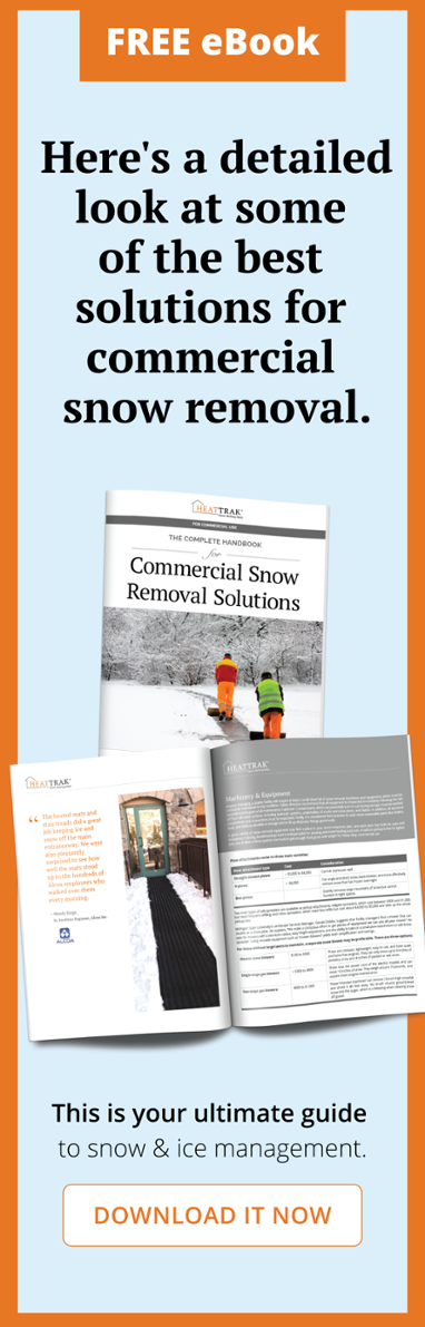 Download the Commercial Snow Removal Solutions Ebook now!