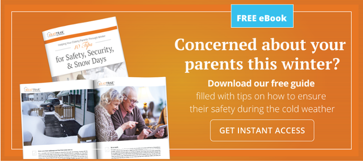 Concerned about your parents this winter? Download our senior safety guide.