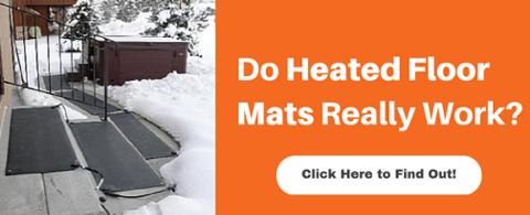 Do heated floor mats really work?