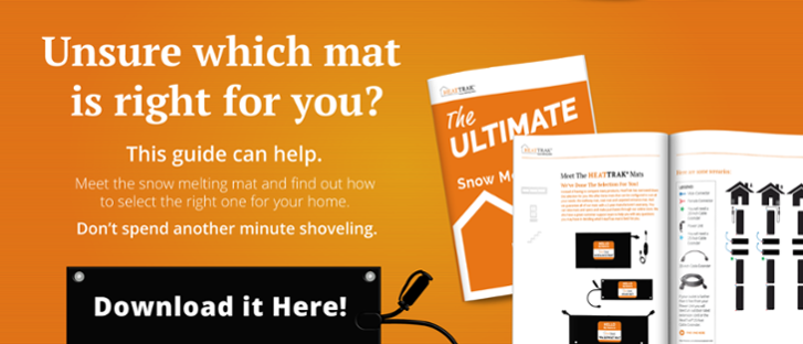 Unsure which mat is right for you? The Ultimate Homeowners Guide to Snow Melting Mats | HeatTrak