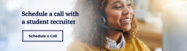 Schedule a call from a student recruiter