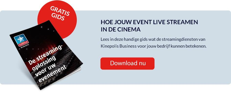 Streaming oplossing Kinepolis